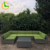 Sectional simple design wedding garden rattan 7 seater l shaped royal modern sofa set