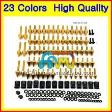Fairing bolts full screw kit For DUCATI 848 1098 1198 07 08 09 10 12 848S 1098S 1198S 2007 2008 2009 Motorcycle bolt screws Nuts