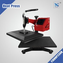 Mini Digital Swing Away Clam Heat Press Tshirt Transfer Sublimation Hot Stamping Machine