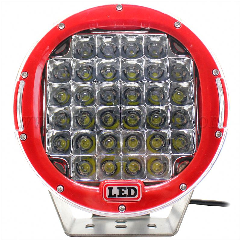 Super bright 96W red round C <strong>R</strong> E Es auto LED work lights