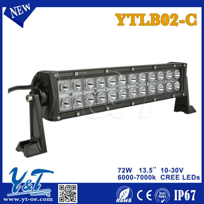 Modern design YTLB02-C LED 13.5 inch off road led light bars for trucks