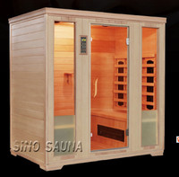 European design comfortable 4 person infrared sauna room for sale