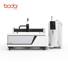 CNC Fiber 1000W Laser Cutting Machine For Carbon Steel 1500*3000MM