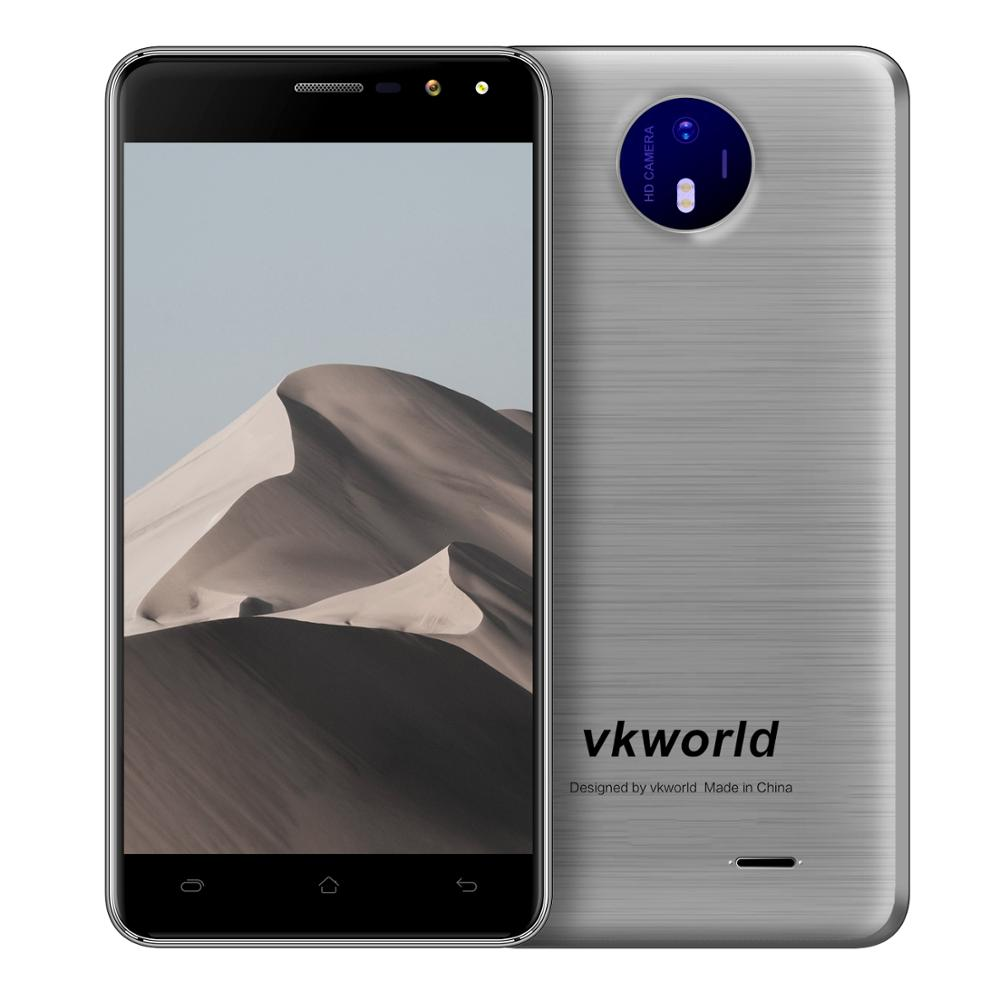 Make in Japan Mobile Phone VKWORLD F2 Quad Core up to 1.3GHz Dual Sim 3G Android 6.0 Smart Phone 2800mAh Dual Camera