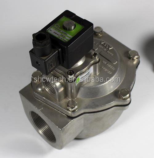 baghouse filter pneumatic electromagnetic solenoid pulse valve