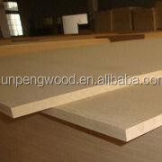 melamine coated mdf/ fire rated mdf board