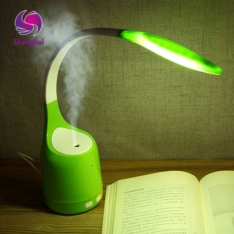 2017 New Arrival 160ML Mini LED Light USB Portable Ultrasonic Air Humidifier