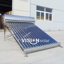 Vacuum Tube Non-pressure Air Vent Solar Heater Water