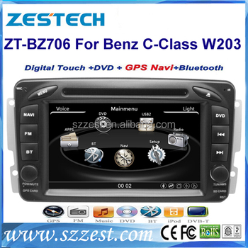 ZESTECH Touch Screen Car DVD PLAYER for Mercedes Benz W203 car dvd player BEFORE 2005