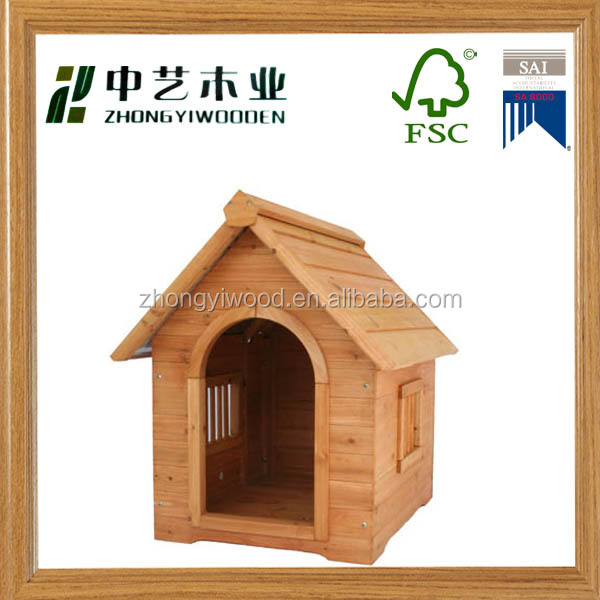 wholesale Alibaba china best selling customized large wood dog housePet Cages Carriers & Houses