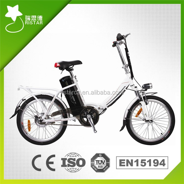 Cheap 70KM 20Inch 36V 10AH 250W Folding Electric Bike with Pedals