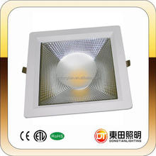 85lm/w high luminous dimmable SMD led downlight light 20W with 3 years Taiwan Epistar 3528W-H13 LED