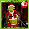 outdoor inflatable christmas grinch for sale merry christmas 2014 decoration christmas decoration Cyber monday