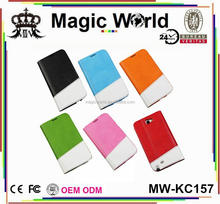Fashion Durable Protective Multi-color Leather Phone Case For Samsung Galaxy Note 2