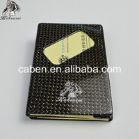 Promotional Gift Type Adorable Carbon Fiber Mixed Metal Material Business Card Holder Price Hot Sale