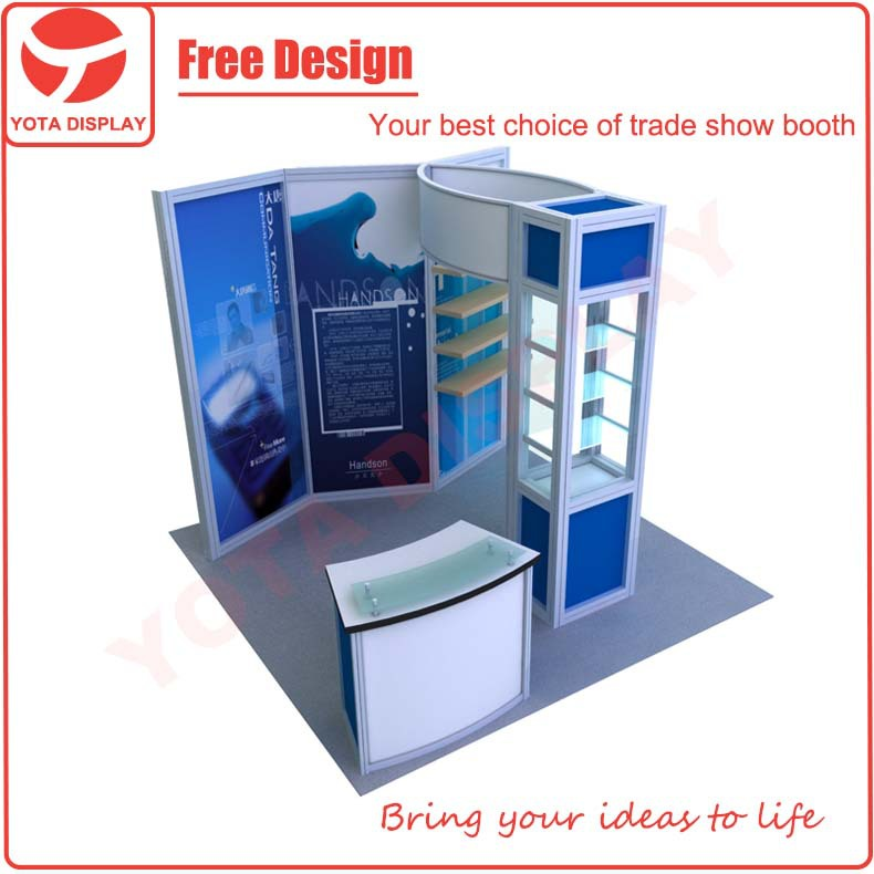 Yota 3x3 trade show stand/modular exhibition stand/trade show booth display