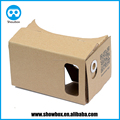 google cardboard glasses v1 custom imprint Diy unfold shipping 3d vr cardboard