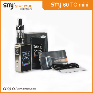 mechanical mod e cigarette smy60 TC mini vapes and atomizers pk sniper box mod clone wholesale in malaysia