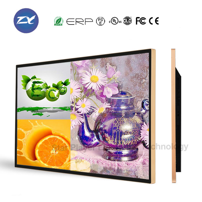 47 inch LCD LED TV elevator wall mounted advertising board