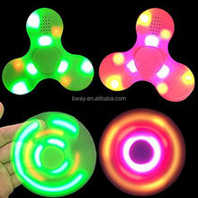 2017 New arrivals with bluetooth speaker fidget spinner toys r us glow in the dark figit spiners for time killer