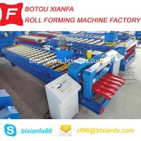 Color Steel Glazed Tile Roofing roll forming machine, tile making machine