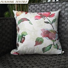 Printed Flower Auto Seat Wholesale Cushion