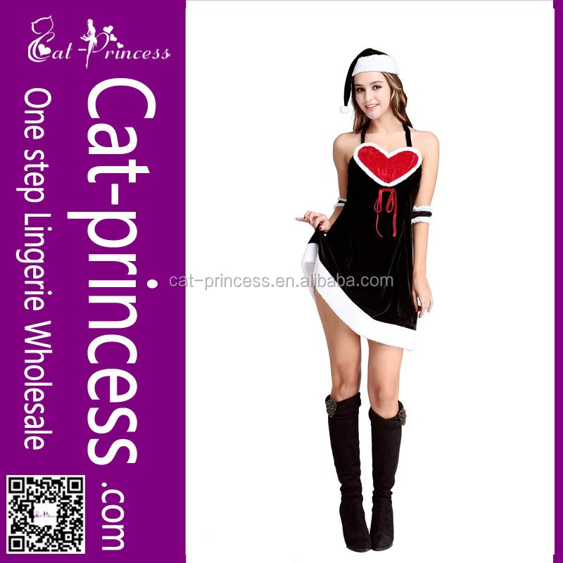 Classy quality black temptress christmas dresses wear
