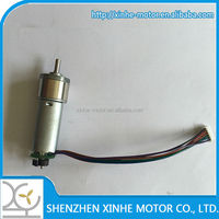 China supplier 16mm with Encoder, 24v gear motor