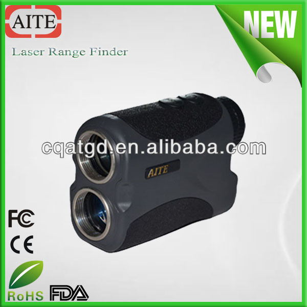Factory Supply 400m mini laser hunting rangefinder with angle&height&distance measuring