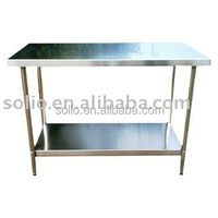 stainless steel worktable / worktable with drawers/ worktable with wheels