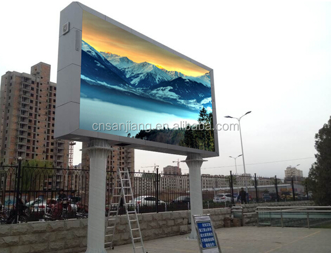 water proof full color P8 outdoor LED display module smd 3528 3in1