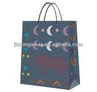 Hot sales paper bag with inner poly liner for shopping and promotiom,good quality fast delivery