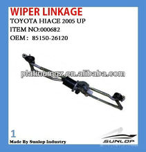 #000682 hiace wiper linkage for hiace van commuter 85150-26120