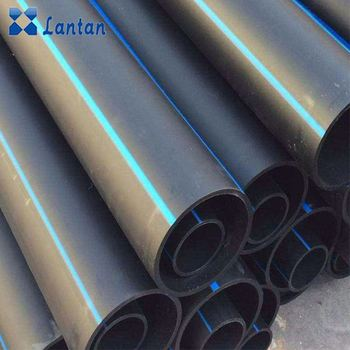 High quality hot sale SDR26 PN6 HDPE pipe 200mm for water supply
