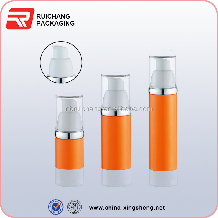 Airless Bottle plastic airless Pump Bottle for Skin Care Lotion Container Cosmetic Packaging