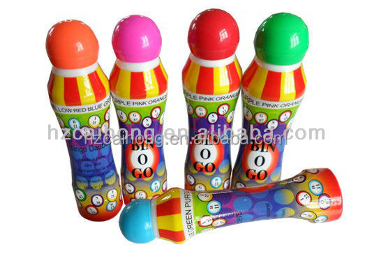 3oz bingo marker with 18mm sponge tip, perfect to do a dot when painting or play Bingo games!OEM welcome