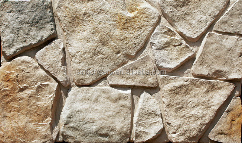 Decorative imitation stone facede wall panel