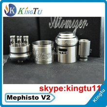 most popular mechanical mod e-cig skyline m6 mod with 1 1 clone mephisto v2 in huge stock now