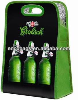 China cooler bag manufacturer six bottle beer cooler bag