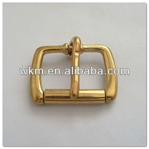 solid brass buckle for dog collar