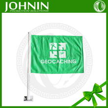 hot selling most Popular best quality cheap car flags green