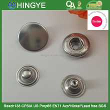 Sedex Audited 2 Pillar Factory Stainless Steel Metal Pree studs Snap button