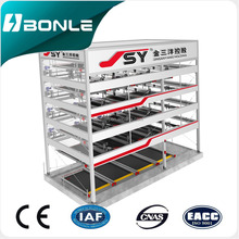 safe reliable practical automatic level car parking system