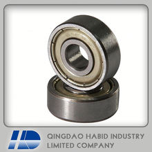 Free sample iron deep groove ball bearing 606zz