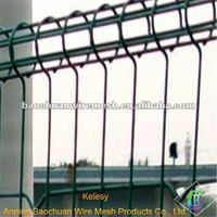 welded mesh 1.8*3m Double ring wire mesh fence for protecting & segregation