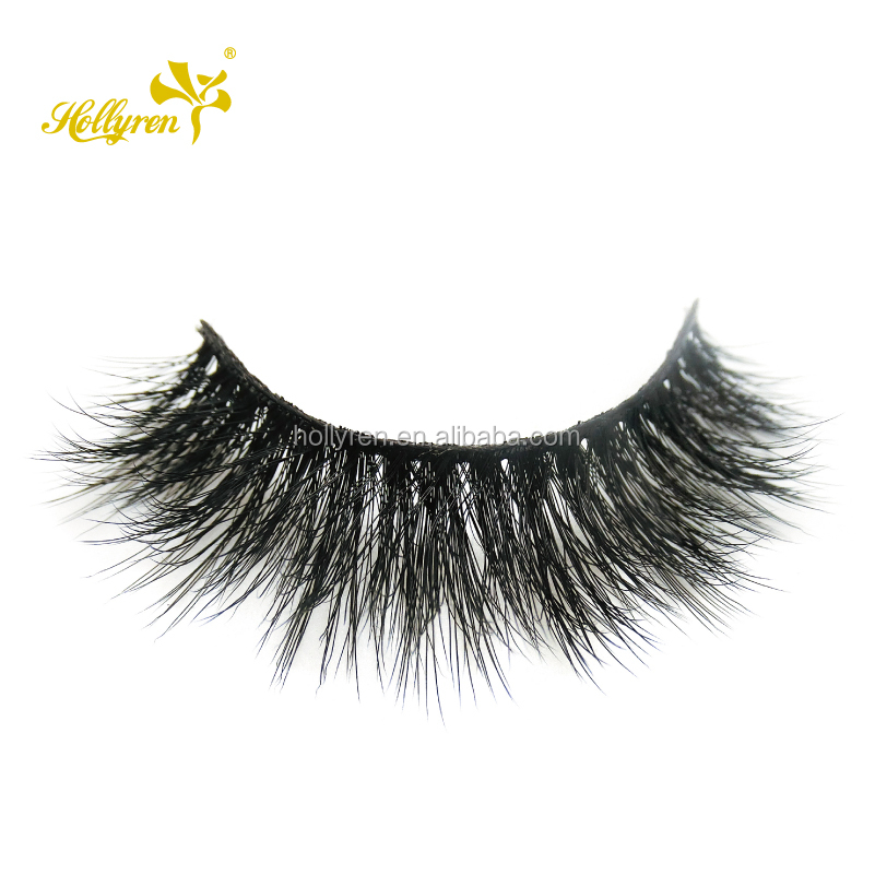 Hollyren Factory Direct Sales Wholesale 3d Faux Mink Strip Lashes