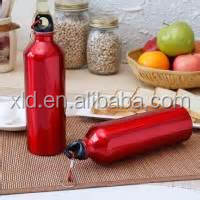 canteen aluminum water bottle with stainless steel outer