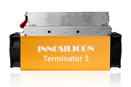 2019 New BTC bitcoin miner  Innosilicon T3+ 52Th/s Terminator 3 mainer asic miner