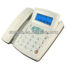 Transparent buttons caller ID phone/ new and suitable telecom products