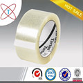 Adhesive carton packing bopp tape with good hotmelt glue from China Manufacturer